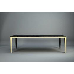DYLE ESSENCE 001 240x100,nowy ciemny dąb - nogi złote