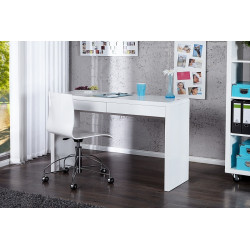 INVICTA biurko SENSATION - białe, wysoki połysk