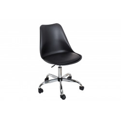 INVICTA Krzesło biurowe SCANDINAVIA - czarne