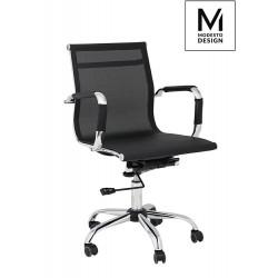 MODESTO fotel biurowy ERGO SIATKA czarny - siatka, metal