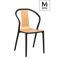 MODESTO krzesło VINCENT - drewno, polipropylen