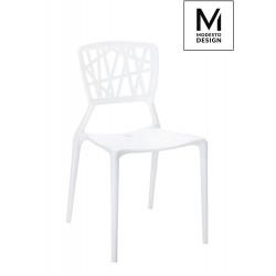 MODESTO krzesło VIND białe - polipropylen