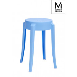 MODESTO stołek CALMAR 46 niebieski - polipropylen