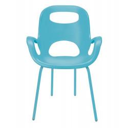 UMBRA krzesło OH turkusowe