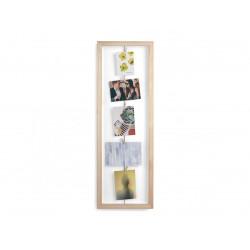 UMBRA ramka na zdjęcia CLOTHESLINE FLIP naturalna