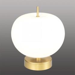 Ekskluzywna lampa LED stołowa złoto biał a - APPLE T
