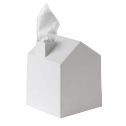 Etui na pudełko z chusteczkami biały, Casa