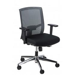 Fotel biurowy Ergo szary/czarny