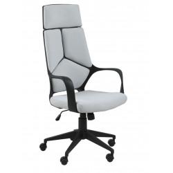 Fotel biurowy na kółkach Dubnium jasnosz ary