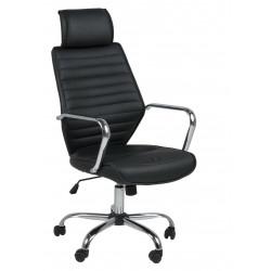 Fotel biurowy na kółkach Earth czarny