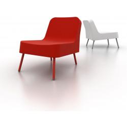 Fotel BOB czerwony