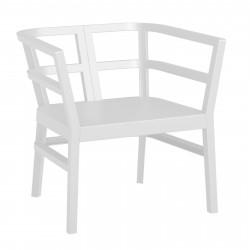 Fotel Click-Clack biały