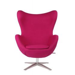 Fotel Jajo Soft wełna różowy SHO-11