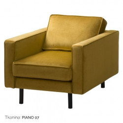 Fotel Mellow 1 GR Tkanin