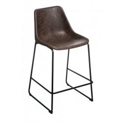 Krzesło barowe Brity Vintage Mocha