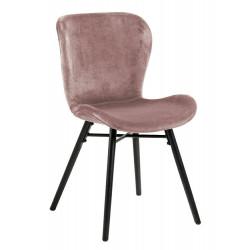 Krzesło Batilda VIC dusty rose