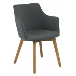 Krzesło Bella Anthracite Oak