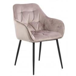 Krzesło Brooke VIC Dusty Rose