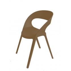 Krzesło Carla brązowe