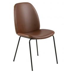 Krzesło Carmen Brandy PU