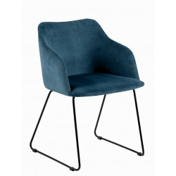 Krzesło Casablanca Dark Blue