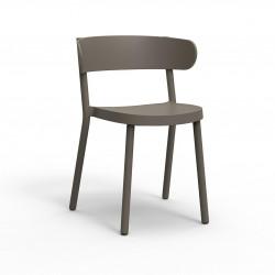Krzesło Casino brązowe