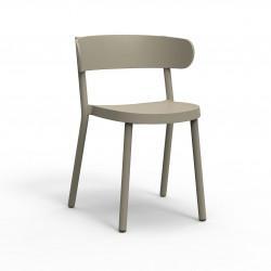 Krzesło Casino brązowe jasne