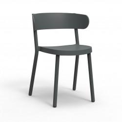 Krzesło Casino szare ciemne