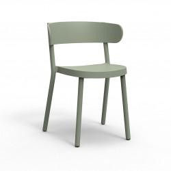 Krzesło Casino zielone