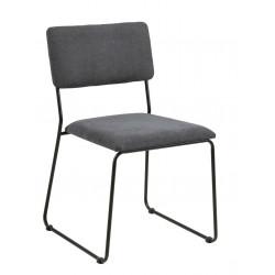 Krzesło Cornelia Antracyt