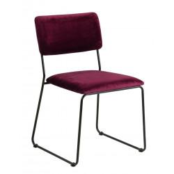 Krzesło Cornelia VIC Bordo