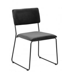 Krzesło Cornelia VIC Dark grey