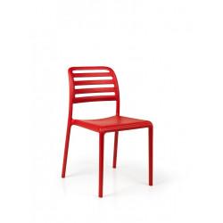 Krzesło Costa czerwone
