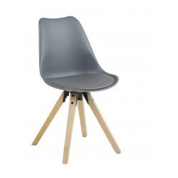 Krzesło Dima grey/ dąb