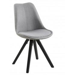 Krzesło Dima light grey/black