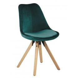 Krzesło Dima VIC green/wood