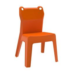 Krzesło dziecięce Jan Frog pomarańczowe