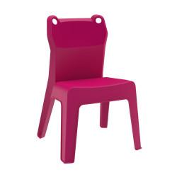 Krzesło dziecięce Jan Frog różowe