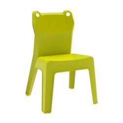 Krzesło dziecięce Jan Frog zielone
