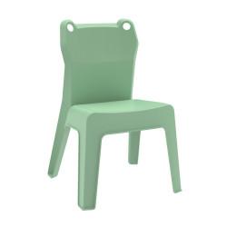 Krzesło dziecięce Jan Frog zielone jasne