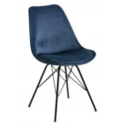 Krzesło Eris VIC niebieskie