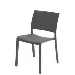 Krzesło Fiona ciemnoszare