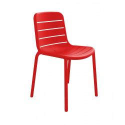 Krzesło Gina czerwone