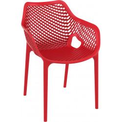 Krzesło Grid XL czerwony