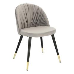 Krzesło Kotte Velvet szare