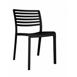 Krzesło Lama czarne