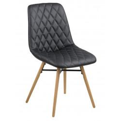 Krzesło Lif Black PU