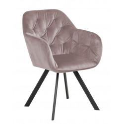 Krzesło Lola VIC Dusty Rose