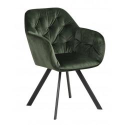 Krzesło Lola VIC Forest green
