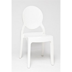 Krzesło Mia White Glossy